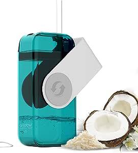 Asobu Juicy Drink Box the Ultimate Unbreakable Reusable 10oz Water Bottle for Kids