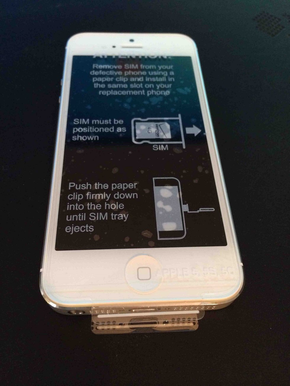 Apple iPhone 5 32 GB Verizon, White