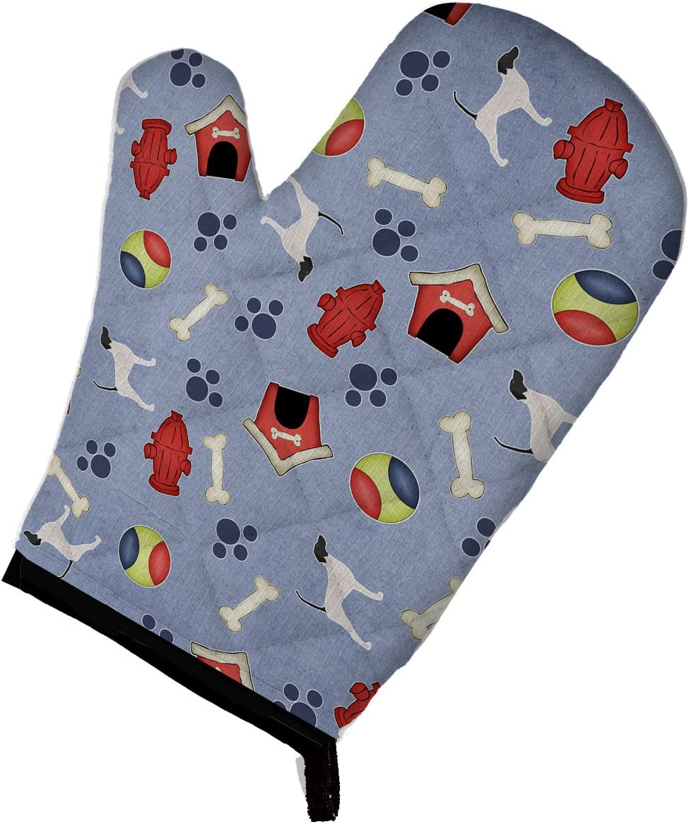 Caroline's Treasures BB3895OVMT English Pointer Dog House Collection Oven Mitt, Large, multicolor