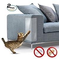 Galaxer 4 Piezas De ProteccióN Anti-ArañAzos Transparente Gato Flexible Resistente A Los ArañAzos para