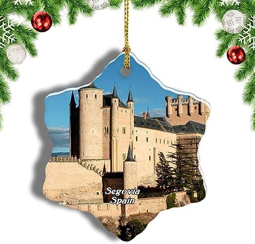 Weekino España Alcazar Castillo Segovia Decoración de Navidad ...