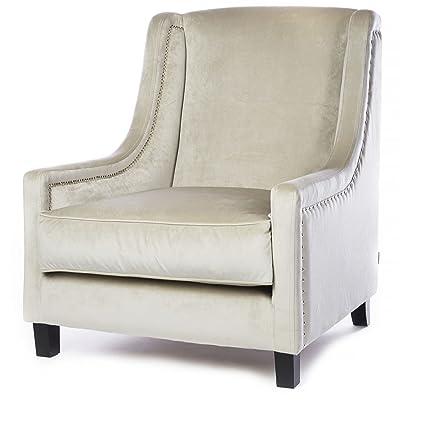 Kelly Hoppen The Emma Velvet Upholstered Chair Amazon Co Uk