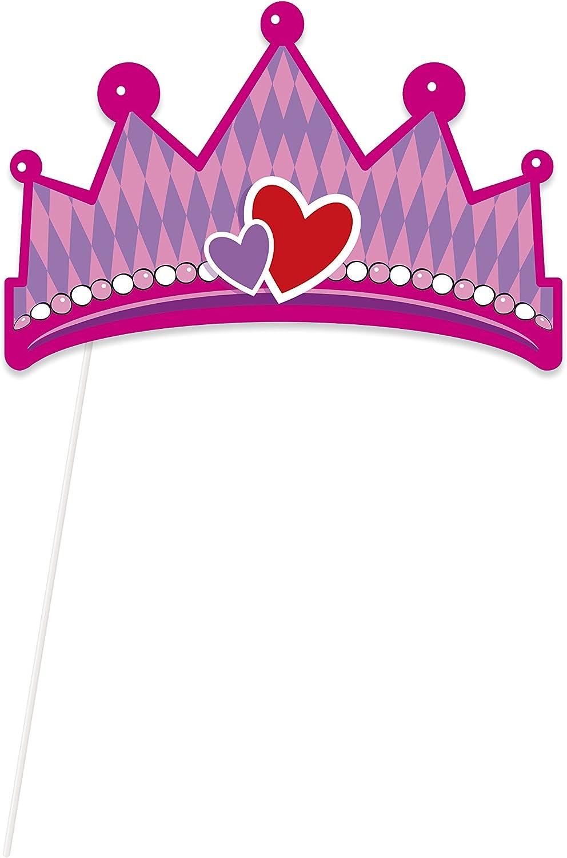 Unique Party 58378-Decoración para mesa de castillo de princesa ...