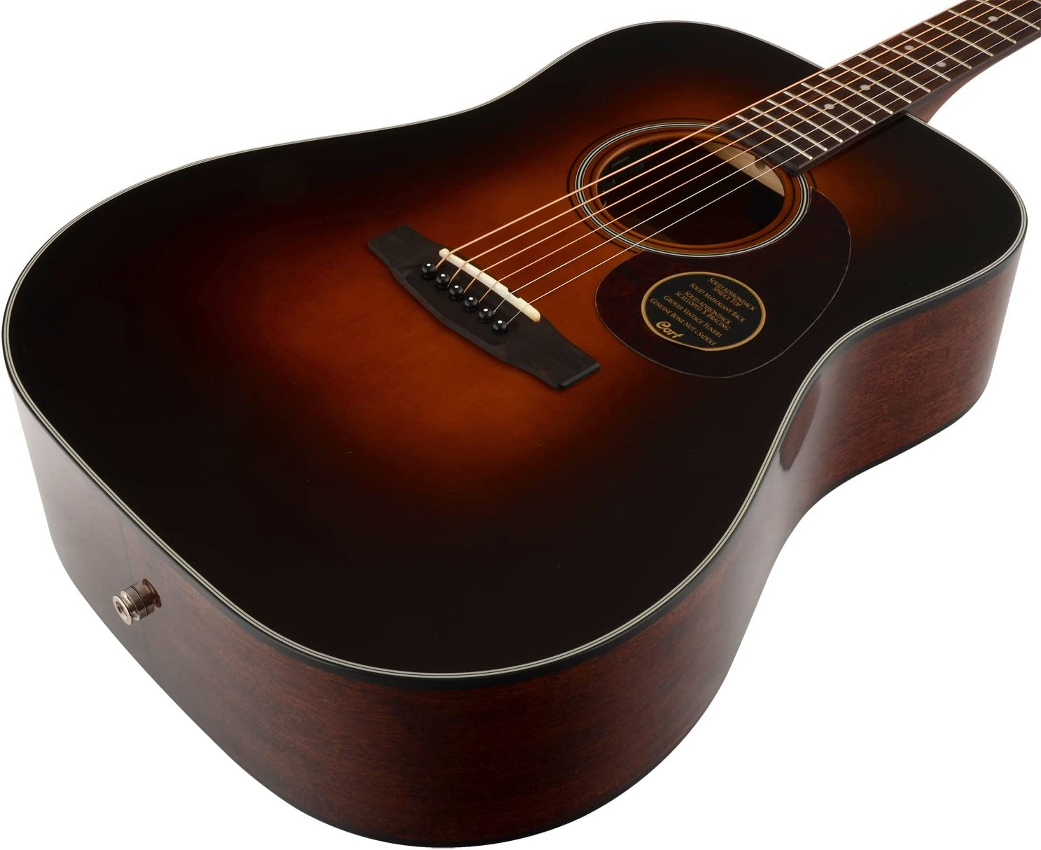 Cort Earth 300 VF eléctrico de guitarra acústica: Amazon.es ...
