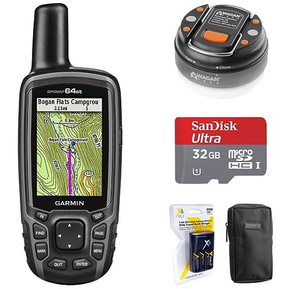 Amazon.com: Garmin GPSMAP 64 010-01199-00 - Navegador GPS de ...