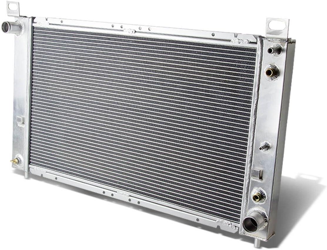 Replacement for Silverado/Sierra/Yukon/Suburban/Escalade AT 2-Row Aluminum Racing Radiator