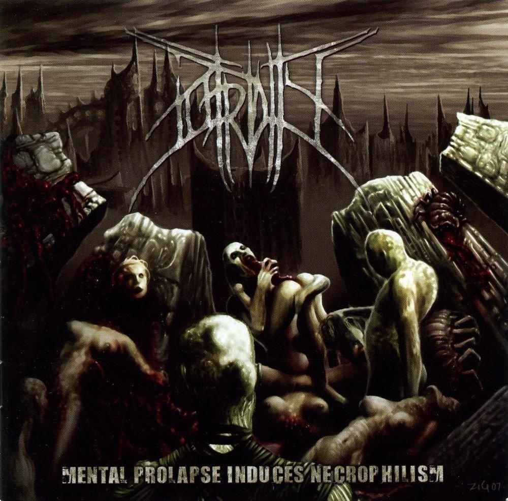 Vinilo : Putridity - Mental Prolapse Induced Necrophilism (LP Vinyl)