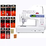 Janome Memory Craft 6500P / MC6500P Computerized Sewing Machine with Package