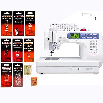 Amazon.com: Janome Memory Craft 6500P / MC6500P Computerized Sewing ...