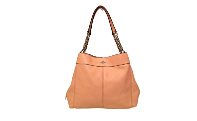 4f26eb7f27 Image Unavailable. Image not available for. Color  Coach F28998 Lexy Chain Shoulder  Bag Light Pink
