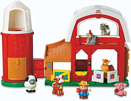 Fisher Price Little People The New Farm Toy Figures Kits For Children Multi Colour Amazon Co Uk Toys Games