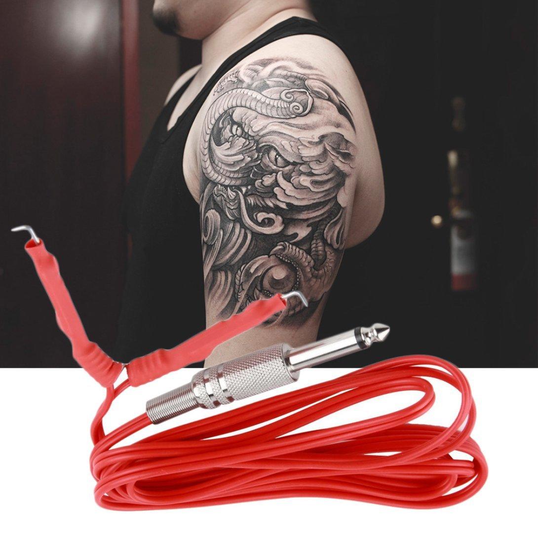 Tattoo Machine Power Supply Cord, Baynne 6 Feet Tattoo Clip Cord for Tattoo Machine Tattoo Power Supply Tattoo Wire