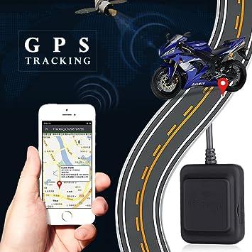 Auntwhale Rastreador de GPS, Buscador de Coches del Dispositivo de rastreo Oculto en Tiempo Real