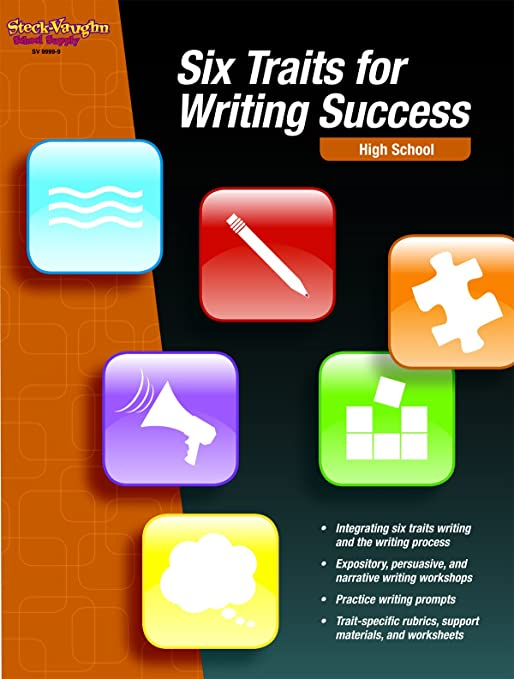 Six Traits for Writing Success: Reproducible High School: STECK ...