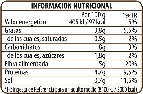 Brillante Benefit Legumbres, Chía, Verduras 250G - [Pack De 16 ...