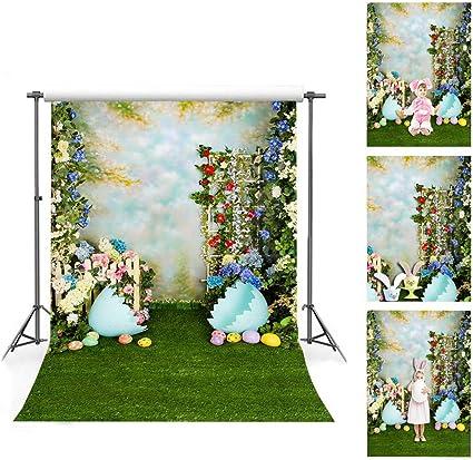 12 7 X 2 1 M Frühlings Oster Hintergrund Für Fotografie Kamera