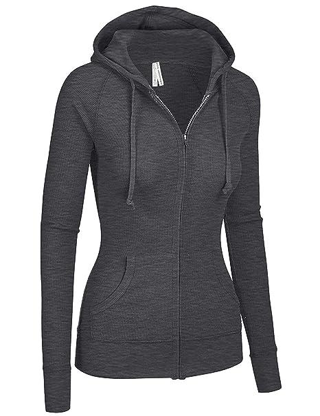 Amazon.com: TL - Chaquetas con capucha para mujer, cómodas ...