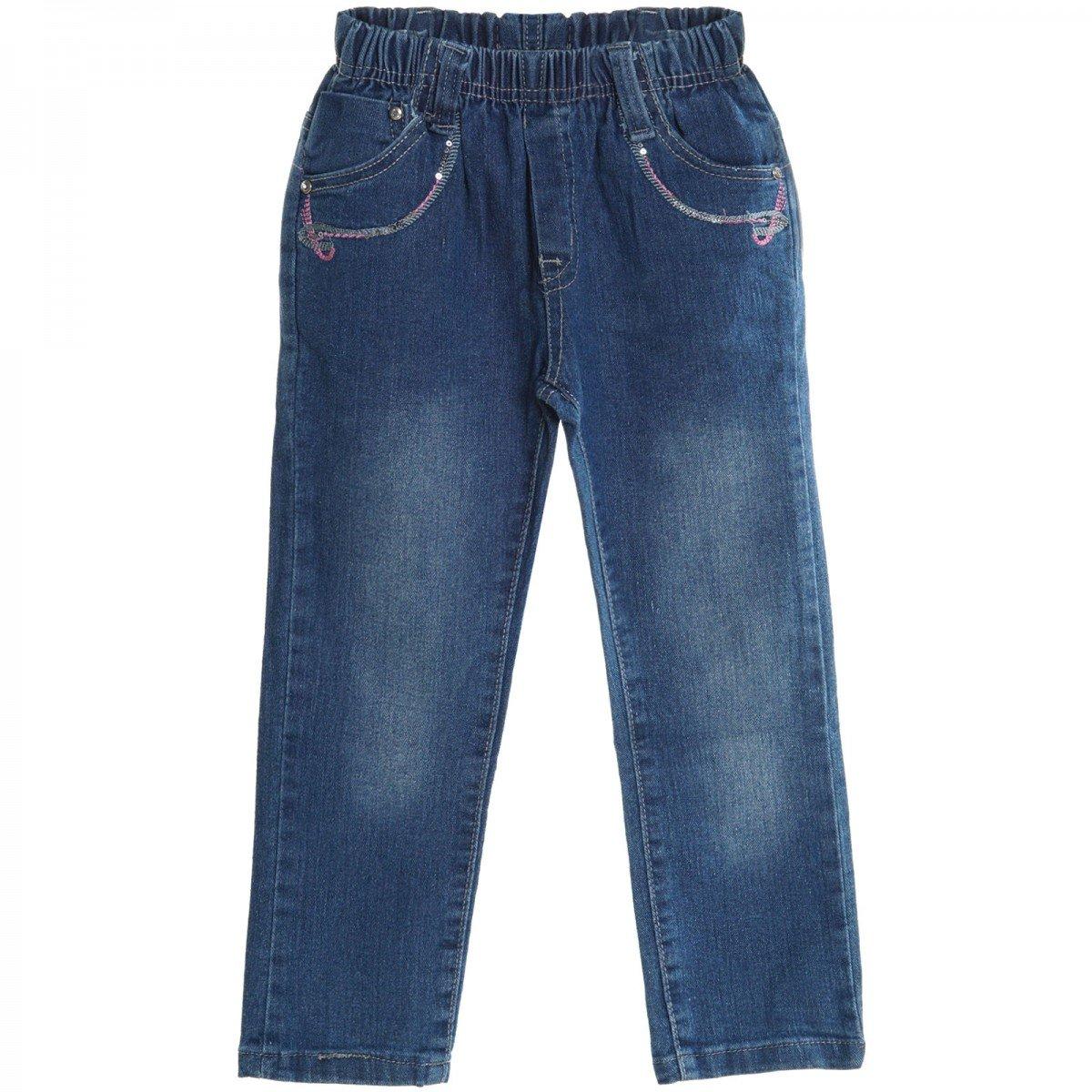 BEZLIT Baby Girls' Skinny Plain Jeans 20503
