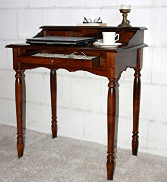 Massivholz Italienischer Sekretär Schreibtisch Holz Massiv