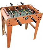 Webby Mid-Sized Football Table Soccer Game with 4 (Rods & Legs)