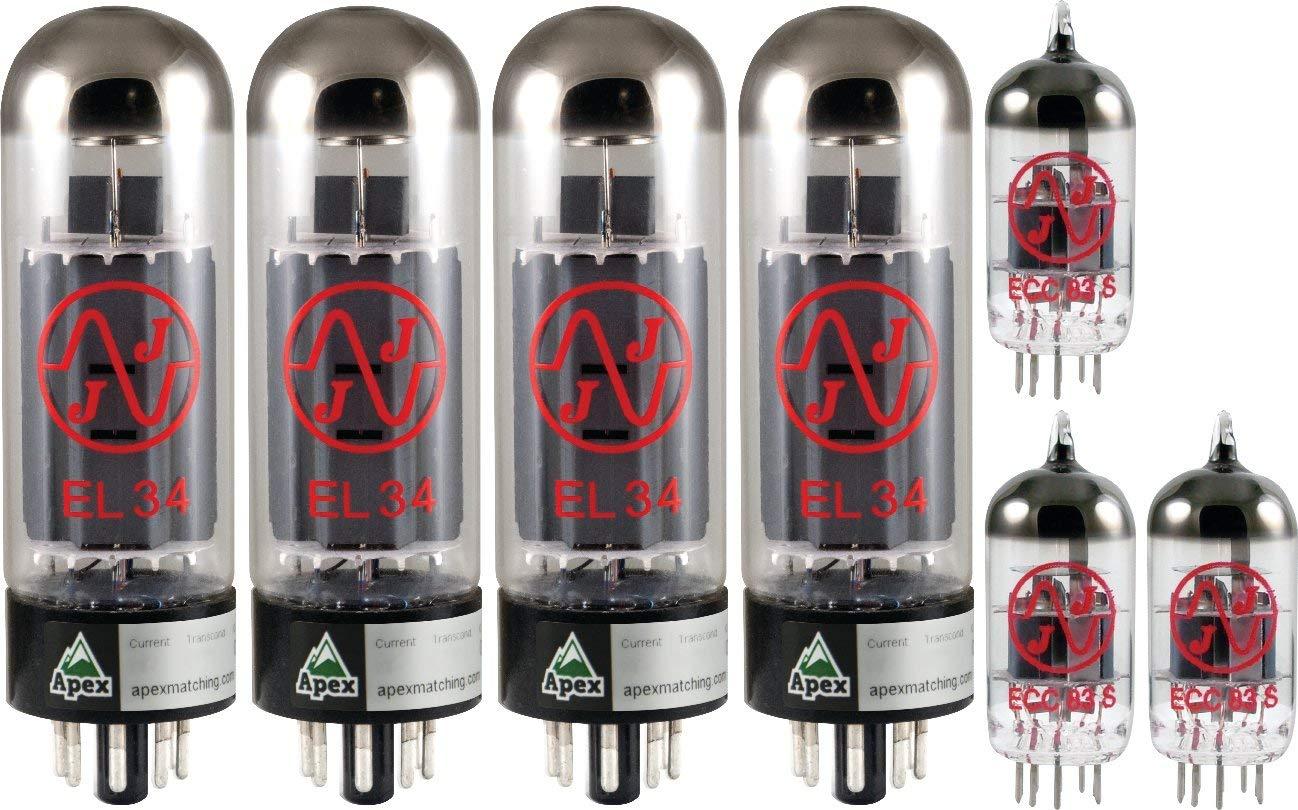 JJ Tubes Apex Matched Marshall 100W Tube Set x4 EL34, x3 12AX7