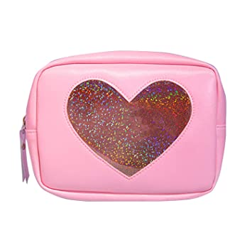 a1297daee6b3 Amazon.com : Portable Holographic Laser Travel Woman Cosmetic Bag ...