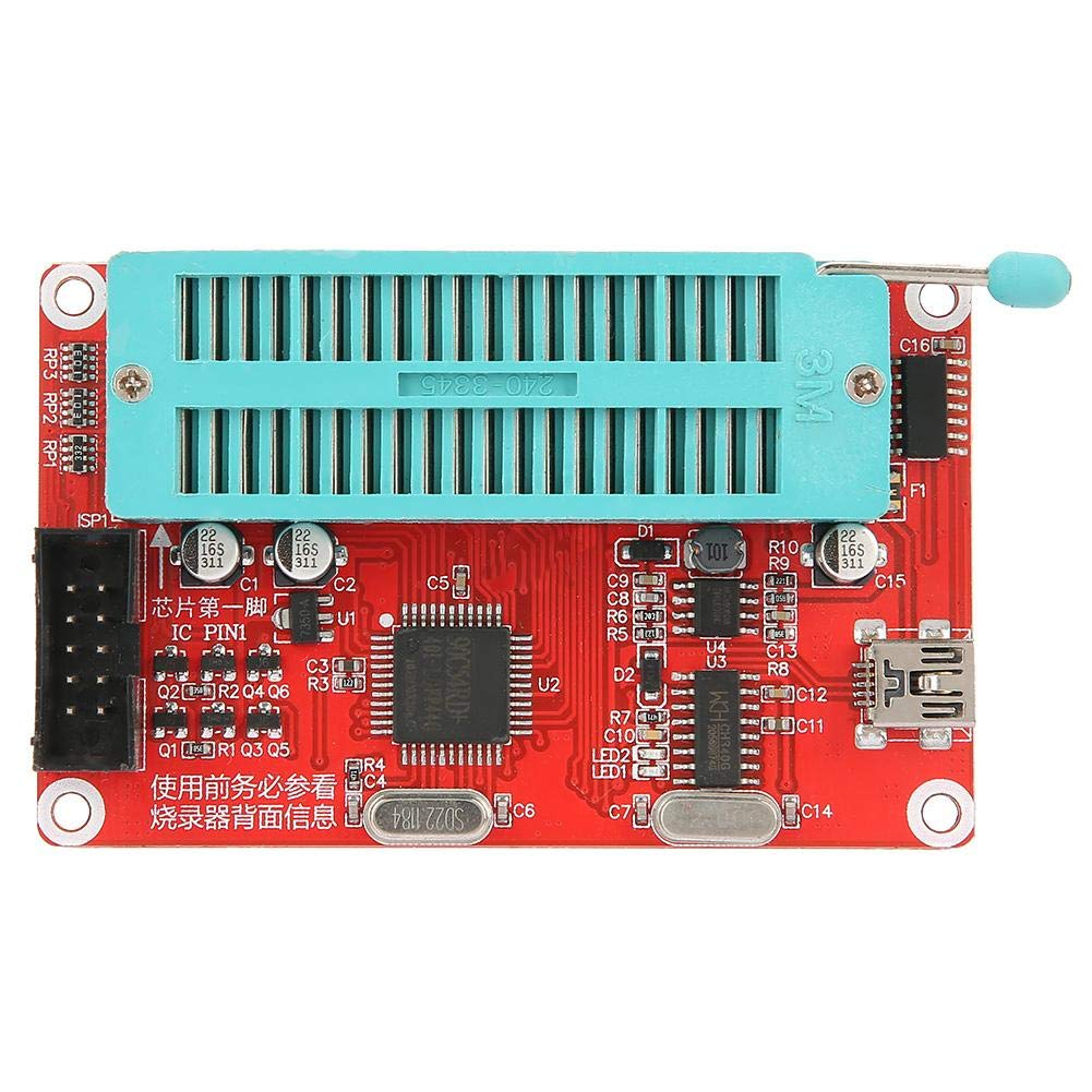 SCM//24//93 Series EEPROM Programadores de chips de memoria SP200SE//SP200S Kit de componentes electr/ónicos de versi/ón mejorada Programador SP200SE Programador PIC USB