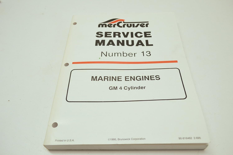 Amazon.com: Mercury 90-816462 GM 4 Cylinder Service Manual QTY 1: Automotive