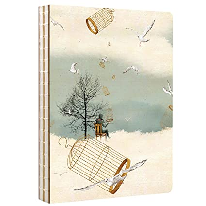 saibang 114 hojas/228 páginas portátil hilo Bound Sketch libro, bloc ...