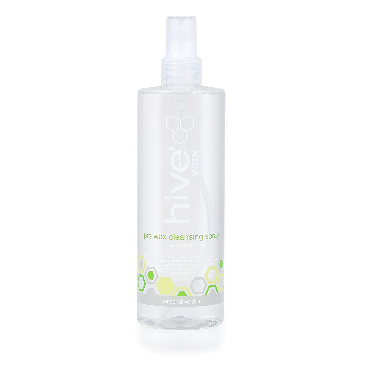 Hive of Beauty Pre Wax Cleansing Spray with Coconut and Lime, 400 ml HOB1105