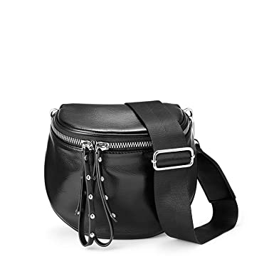 2c92c35f447b Amazon.com: Chibi-store crossbody bags for women silver shoulder bag ...