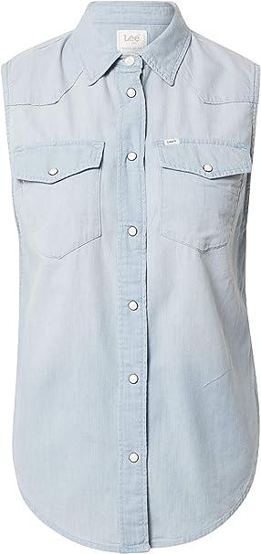 Lee Sleeveless Shirt Camicia Donna