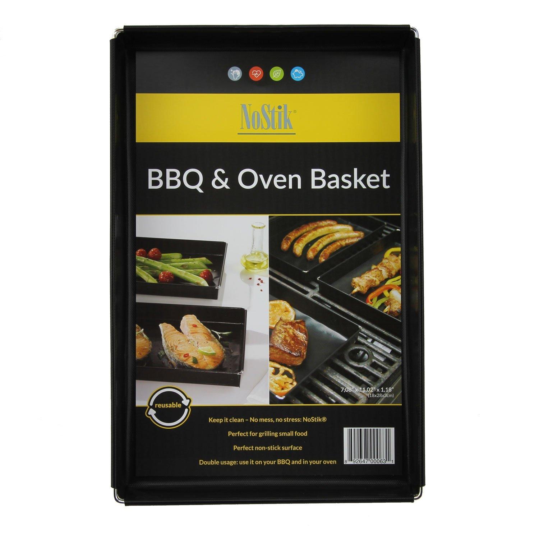 NoStik Bandeja de horno : superficie antiadherente perfecta: también apto para barbacoa: 1,5 litros: Amazon.es: Hogar