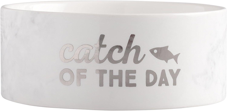 Pearhead Pet Ceramic Food or Water Bowl