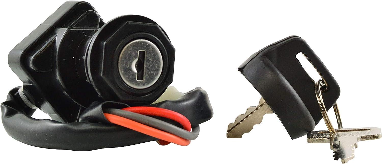 Ignition Key Switch For Suzuki 37110-07G00 37110-05G00 37110-09F00 LTZ250 LTF250