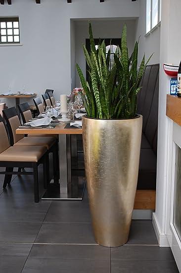 Exklusive Pflanzkübel pflanzkübel pflanzgefäß blumenkübel exklusiv fiberglas gold city