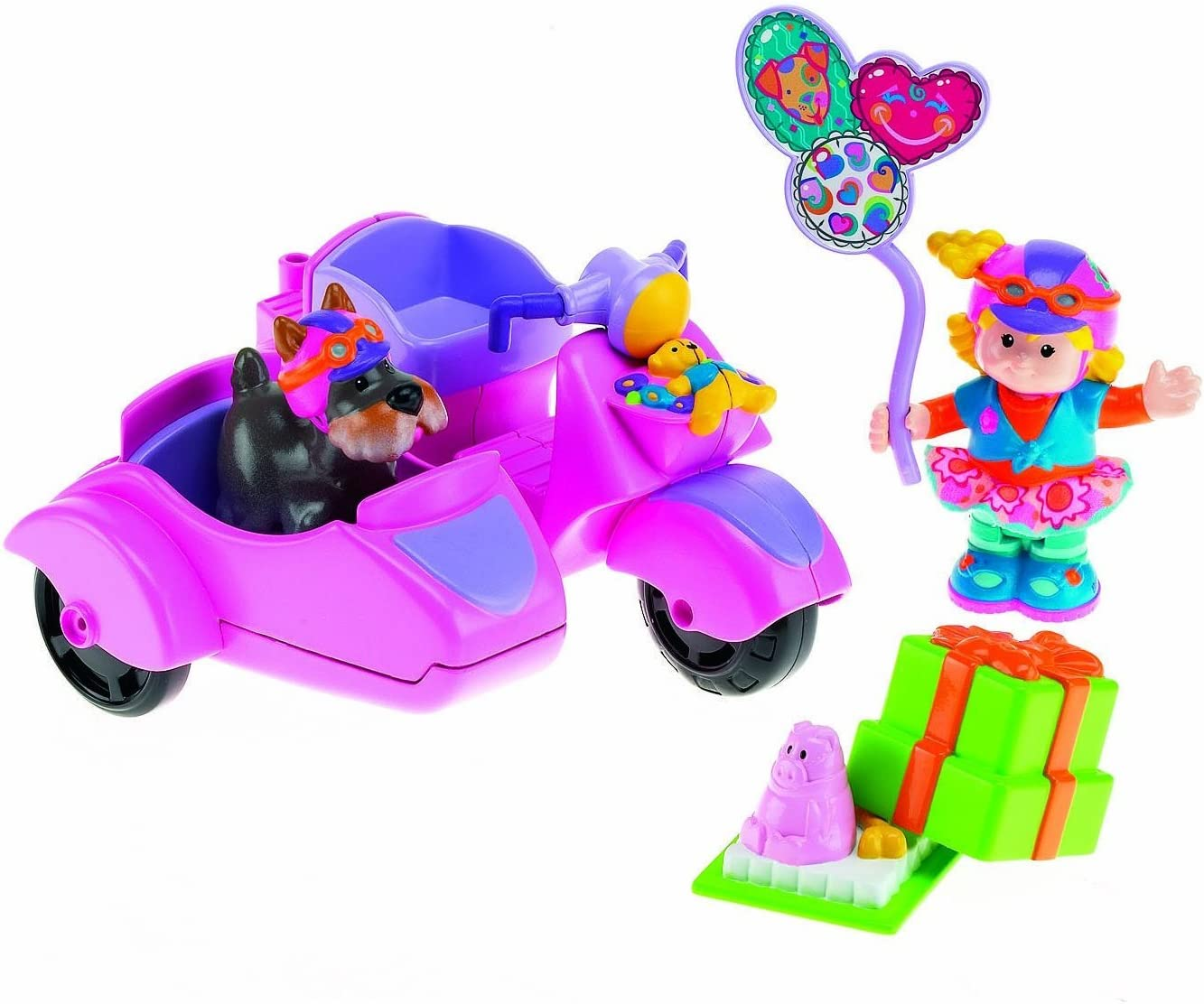 Fisher Price Little People - Sarah Lynn & Her Scooter