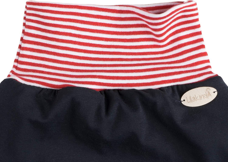 Annsfashion Schlafsack Strampelsack Pucksack LILAKIND Fr/ühling//Sommer Marine Rot Wei/ß Streifen
