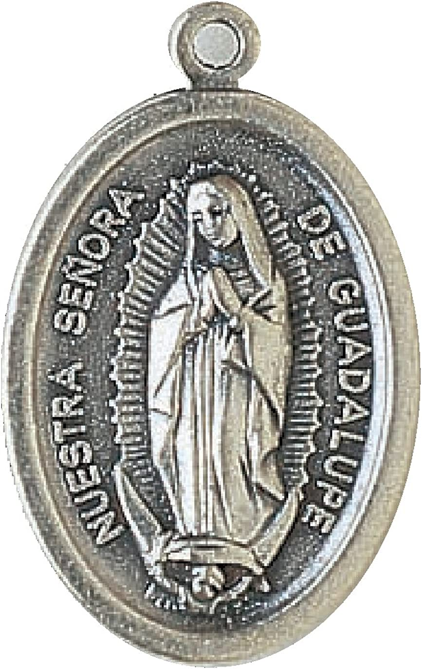 Bulk Medal Lot Set of 20 Our Lady of Olives Metal Pendant 3//4 Inch W Bag From Italy