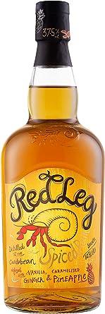 RedLeg Pineapple Spiced Rum 37,5% - 700 ml: Amazon.es ...