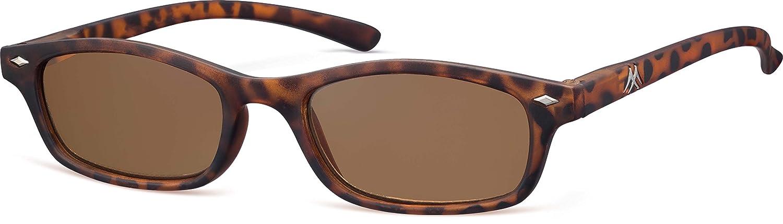 Montana MR19AS Strength Plus 3.50 Tortoiseshell Sun Reading Glasses includes Soft Case by MONTANA