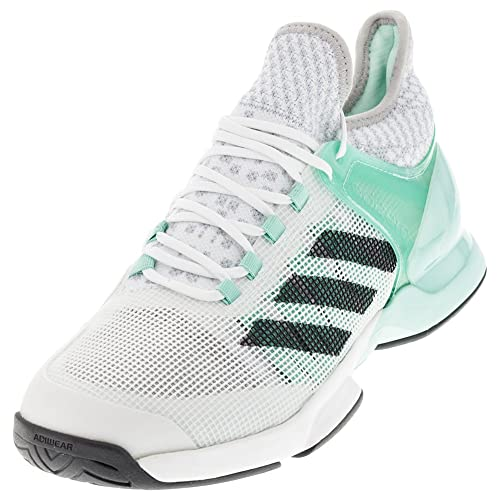 adidas Adizero Ubersonic 2.0 Mens Tennis Shoe 6.5 Ice Green-Dark Grey-White 1f68e9fd6