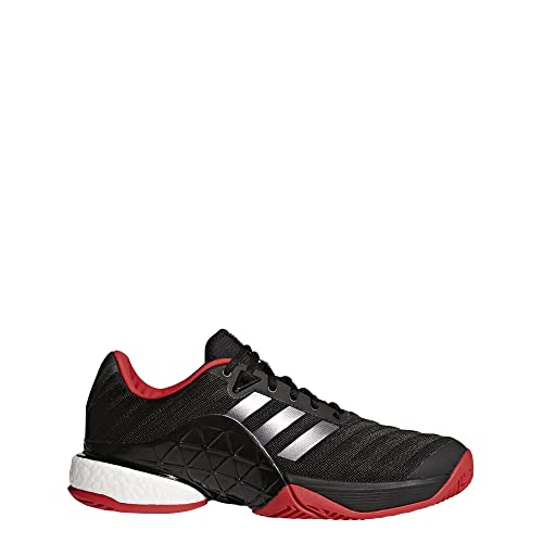 brand new 5e05d 28115 Image Unavailable. Adidas Mens Barricade 2018 Boost, CORE BlackNight MET Scarlet ...