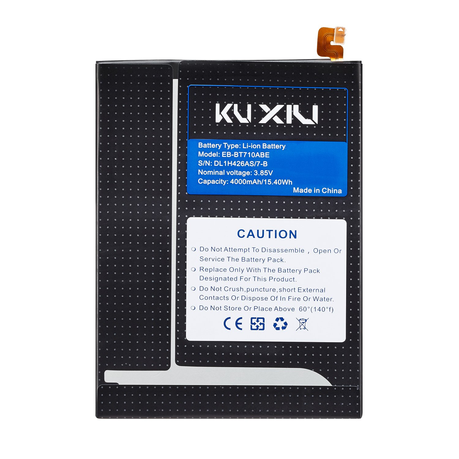 """Kuxiu EB-BT710ABE 4000mAh Replacement Internal Battery for Samsung Galaxy Tab S2 8.0"""", Tab S2 Nook 8.0"""" SM-T710 SM-T713 SM-T715 Tablet"""