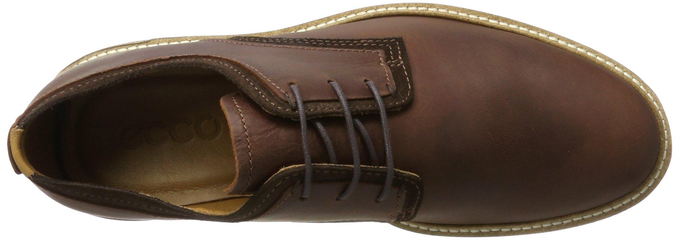 ECCO Men's Kenton Plain Toe Tie Oxford, Mink/Mocha Tan Welt, 47 EU/13-13.5 M US by ECCO (Image #7)