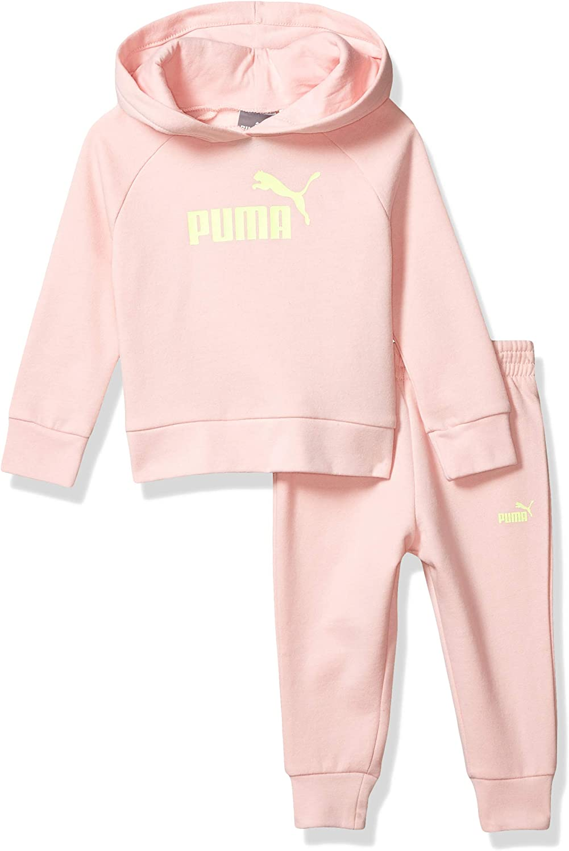 PUMA Baby Girls Fleece Hoodie Set