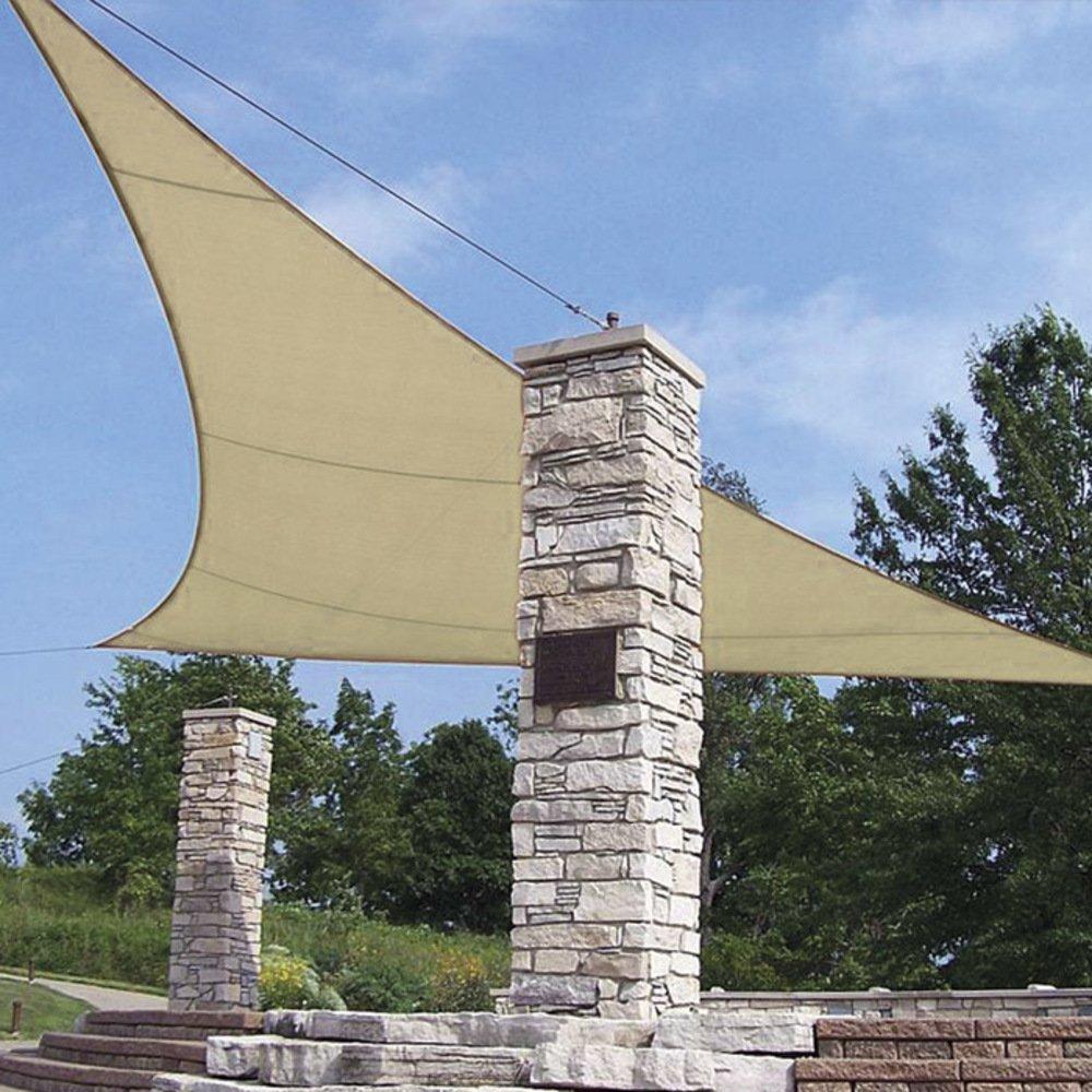 VERDELOOK Tenda a Vela Triangolare in polietilene Biacchi Ettore srl