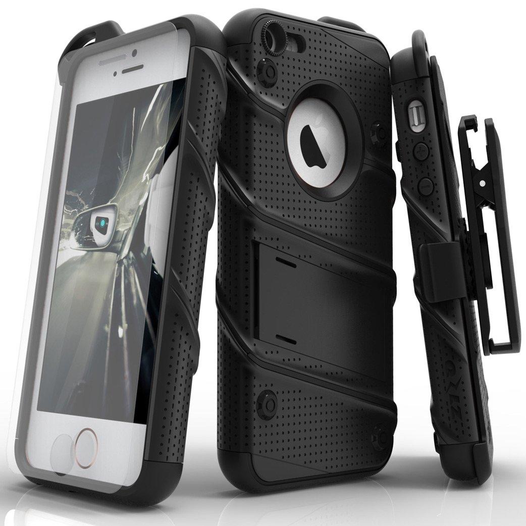 78942569c91 Zizo Bolt - Carcasa y Protector de Pantalla para iPhone 5/ 5s/ SE, Color  Negro: Amazon.es: Electrónica