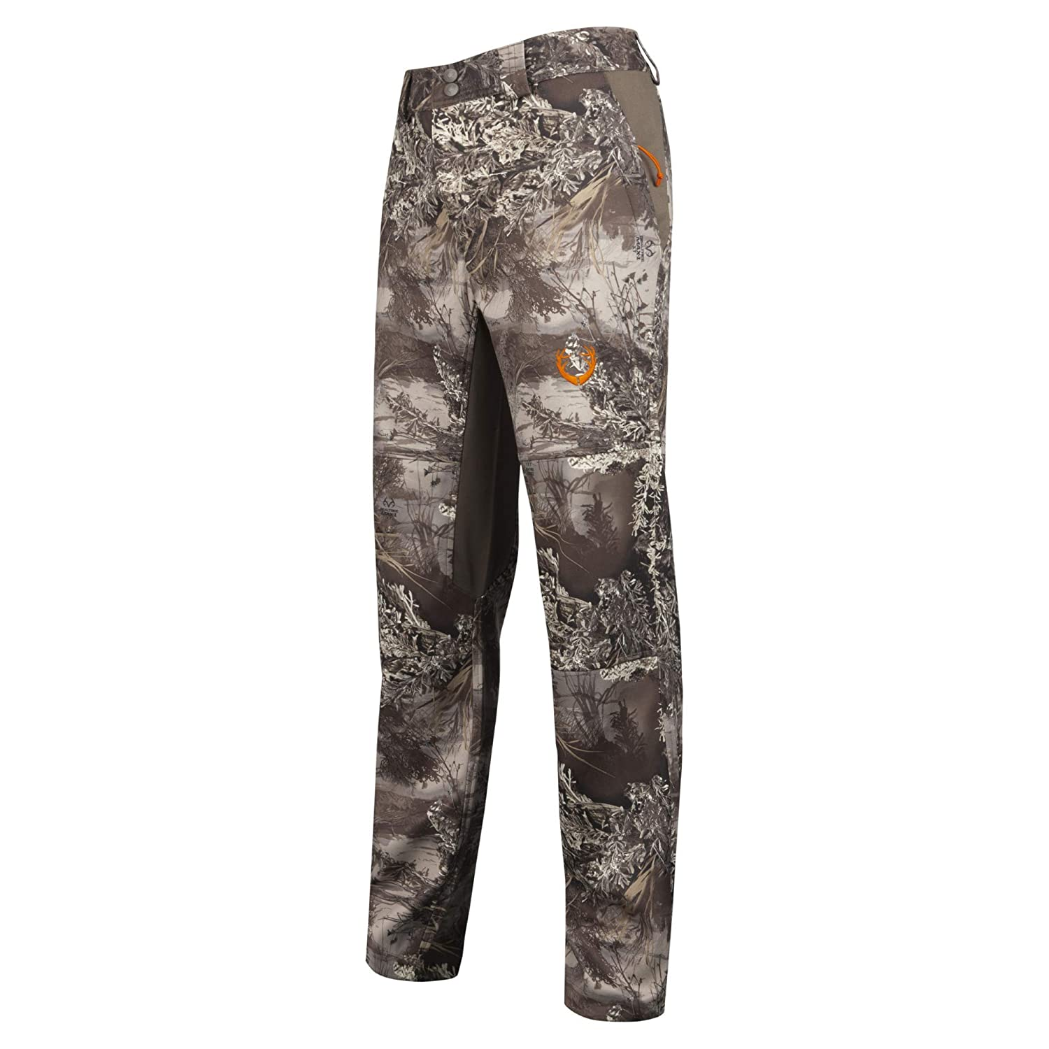 differently 40b43 fdf69 Amazon.com   HUNTSHIELD Men s Lightweight Hybrid Hunting Pants   Realtree  MAX-1 XT Camo   Water Resistant   Sports   Outdoors