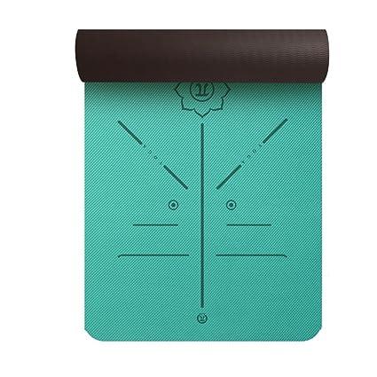 Amazon.com : Yiruculture Yoga Mat Fitness Non-Slip TPE ...